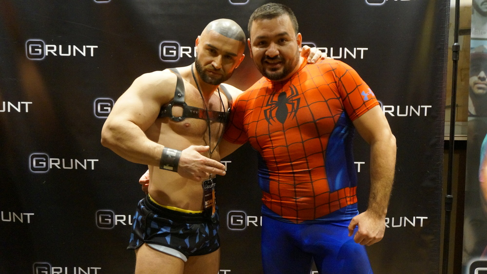 Francois Sagat and Pablo Greene