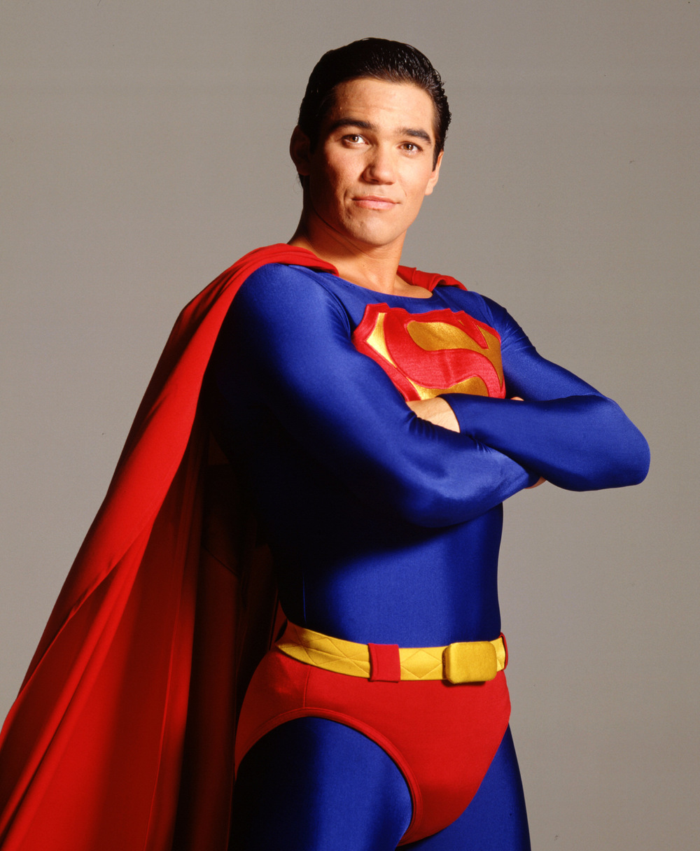 "Dean Cain's Superman costume in ""The Adventures of Clark & Lois"""