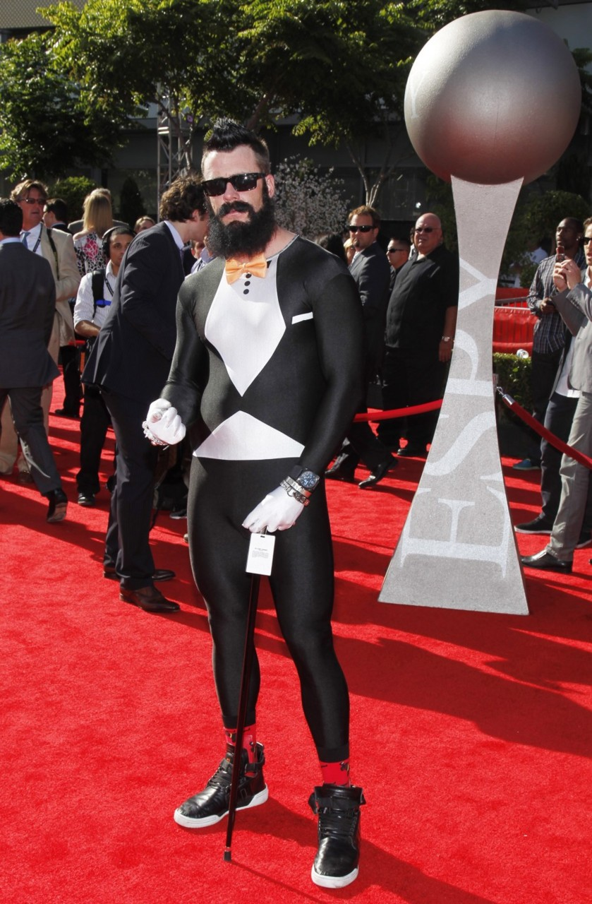 Athlete Brian Wilson is a spandex fetishist?