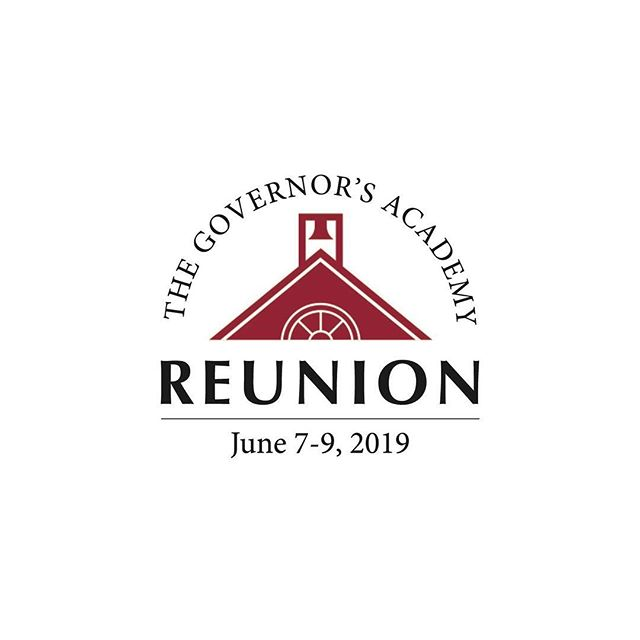 Recent logo design for @govsacademy reunion!  #logodesinger #customdesign #graphicdesign #governorsacademy #newburyportma