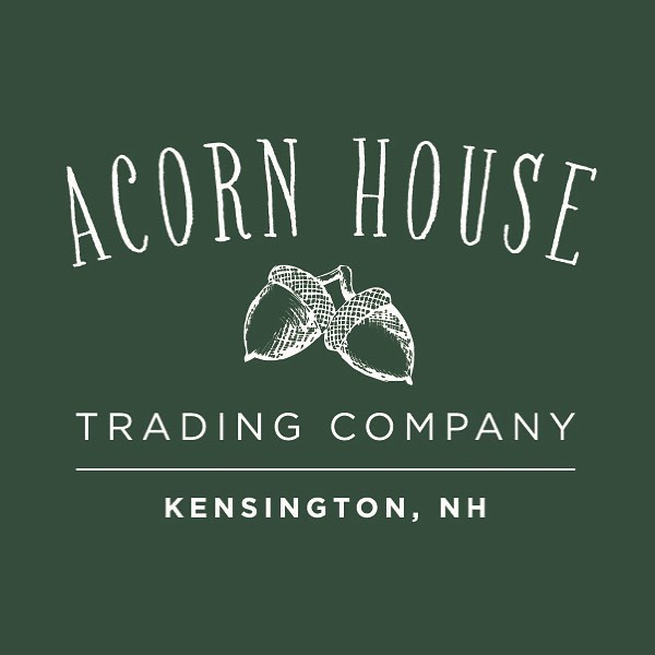 Recent logo design for Acorn House Trading Co. Check out their Etsy shop for wonderful handmade soaps made locally in Kensington, NH.  acornhousetrading.etsy.com  #graphicdesign #customdesign #logodesinger #etsyshop