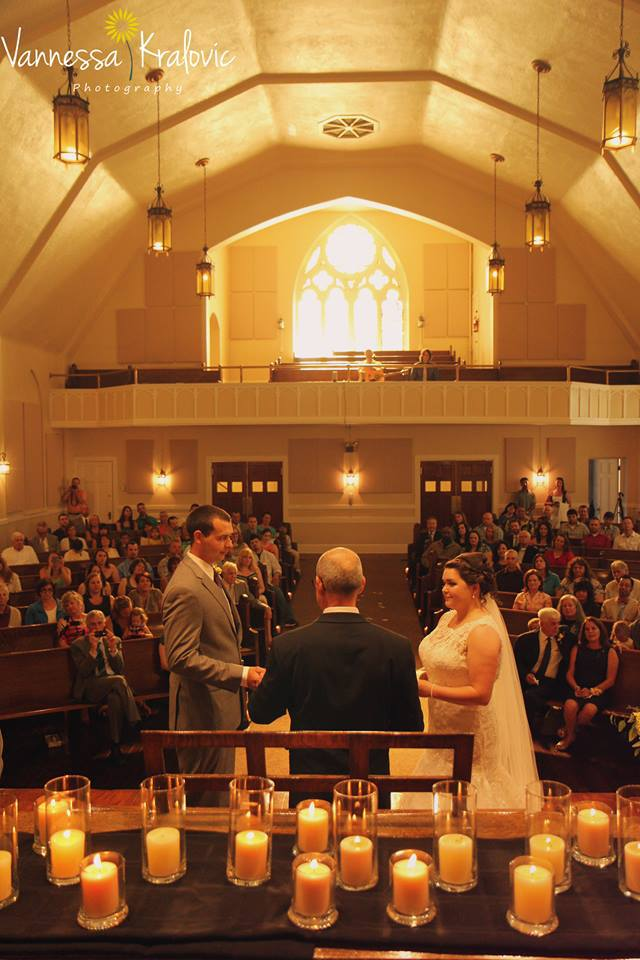 A life-changing moment in the chapel.