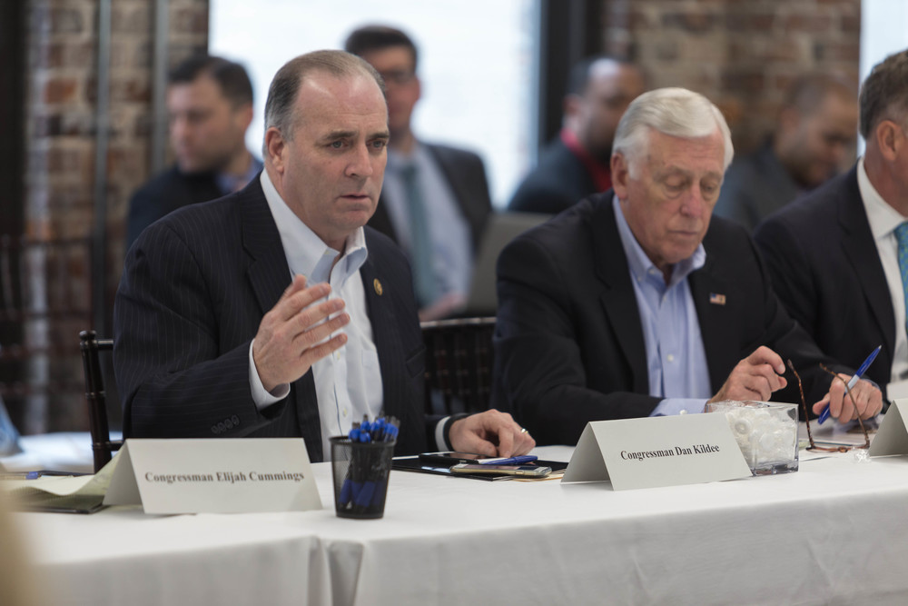 Congressman Dan Kildee, who represents Flint and the surrounding area, mediated the meeting.