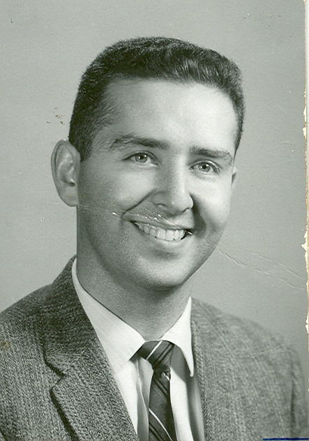 Dr. Glazier's Father, Dr. Harold Glazier his Freshman year of Optometry School.