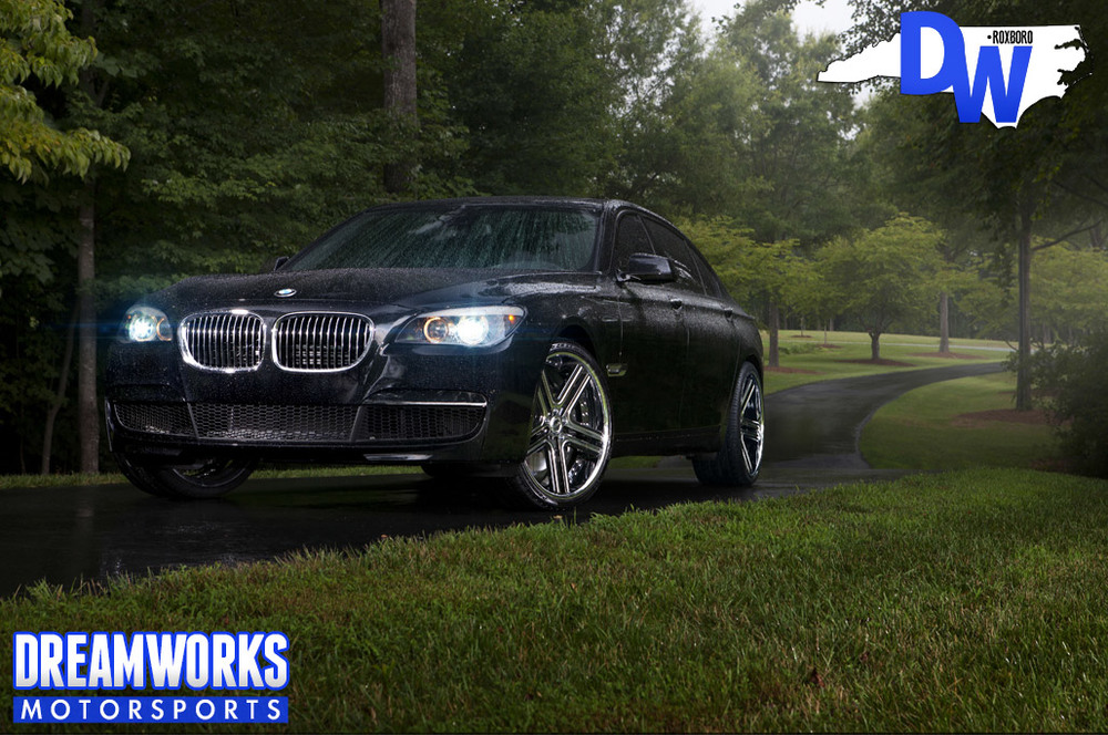 Gerald Wallace 2012 BMW 750 Li w/ Custom Painted 22 Vellano VTJ