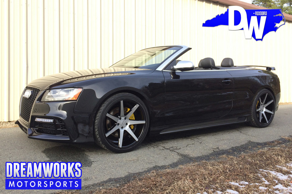 TJ Graham | Buffalo Bills WR Audi S5- custom painted Vossen wheels (VVSCV7), custom painted breaks, JL Audio sound system, smoked lights, custom exhaust computer upgrade