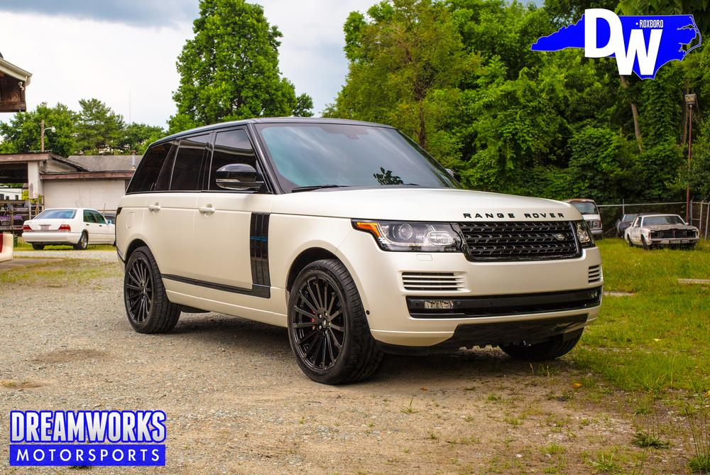 Land Rover Dreamworks Motorsports