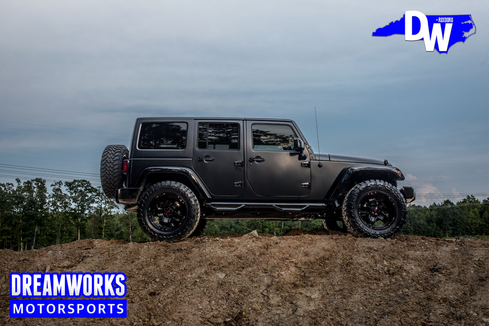 2015 Jeep Wrangler Unlimited W/ Gloss Black Accents, Custom Painted Tuff  Wheels, Open Country Toyo Tires, Lift Kit, Custom Seats, JL Audio System