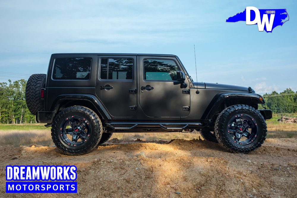 Exceptional 2015 Jeep Wrangler Unlimited W/ Gloss Black Accents, Custom Painted Tuff  Wheels, Open Country Toyo Tires, Lift Kit, Custom Seats, JL Audio System