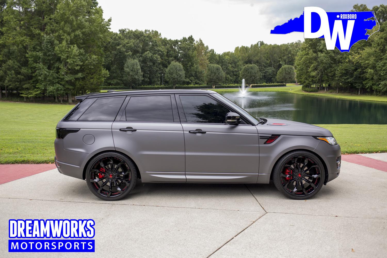Range Rover Sport Matte >> Land Rover Dreamworks Motorsports