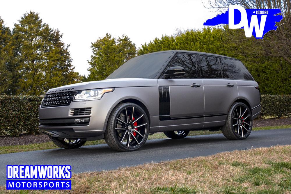 Range Rover Custom >> Range Rover Dreamworks Motorsports