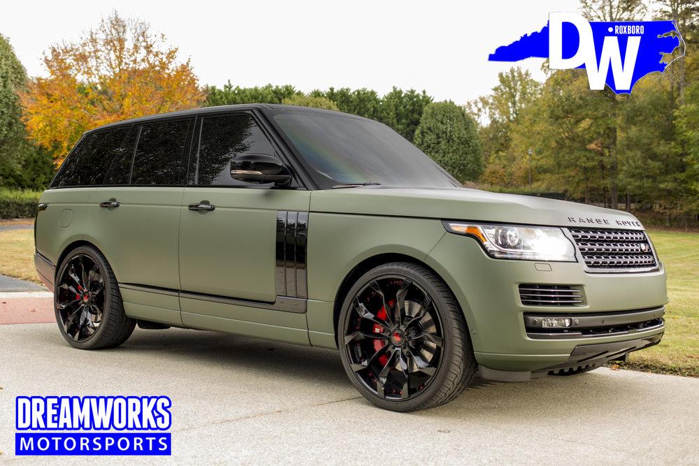 Range Rover Dreamworks Motorsports