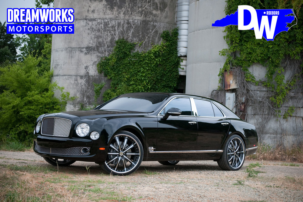 Josh-Howard-Wake-Forest-NBA-Dallas-Mavericks-Bentley-Mulsanne