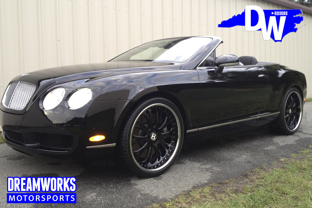 Gerald-Wallace-NBA-Bobcats-Charlotte-Nets-Celtics-Bentley-Continental-GT-Old-Dreamworks-Motorsports