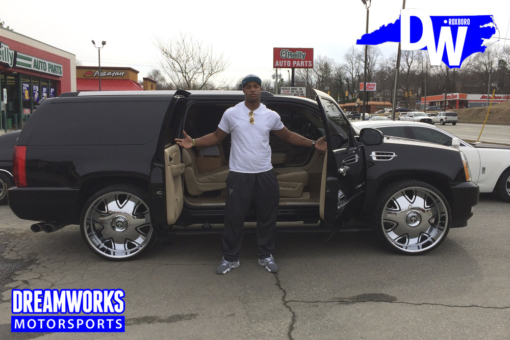 Quinton-Coples-NFL-UNC-Tarheel-New-York-NY-Jets-Kinston-LA-Rams-Cadillac-Escalade-By-Dreamworks-Motorsports-5