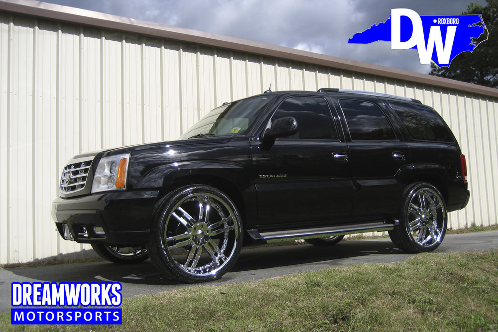 Marvin-Williams-NBA-UNC-Tarheel-Atlanta-Hawks-Charlotte-Hornets-Cadillac-Escalade-Chrome-Dreamworks-Motorsports
