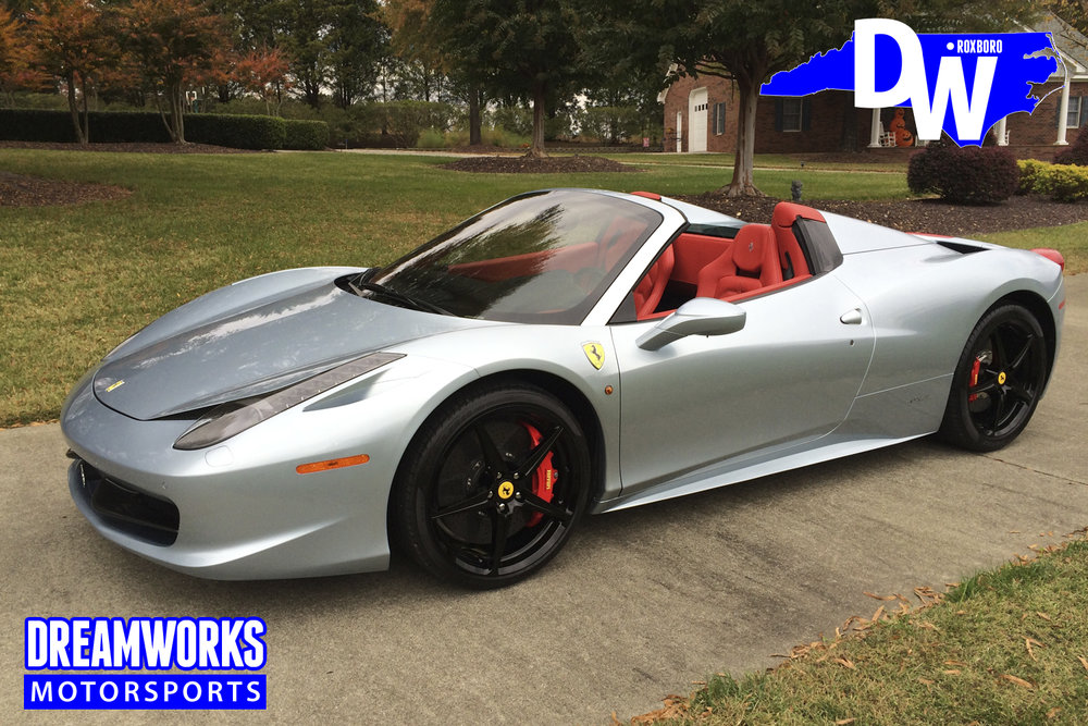 John-Wall-NBA-Washington-Wizards-Kentucky-Word-Of-God-Raleigh-Ferrari-458-Spyder-Dreamworks-Motorsports