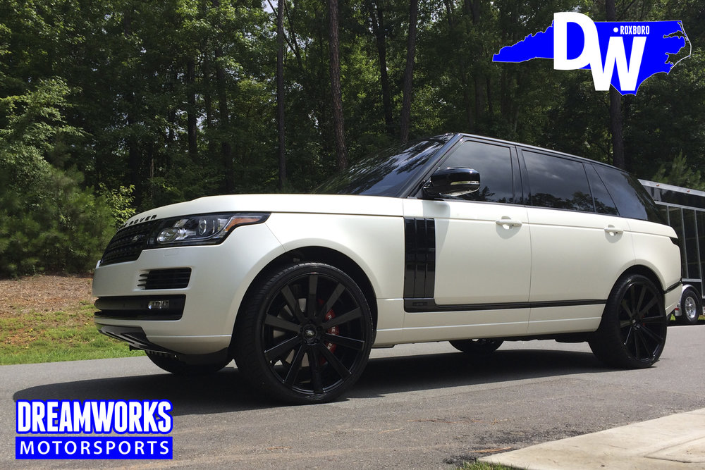 Chris-Wilcox-NBA-Raleigh-Enloe-Whiteville-Maryland-Thunder-Celtics-Range-Rover-By-Dreamworks-Motorsports