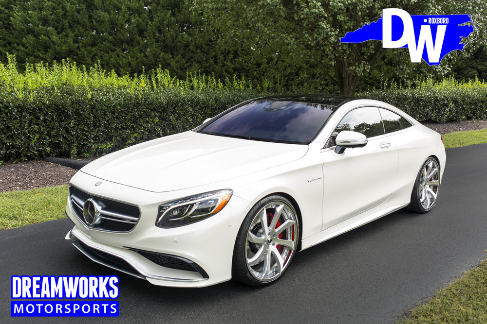 Wesley-Johnson-NBA-Los-Angeles-Clippers-Mercedes-S63-Forgiato-Dreamworks-Motorsports