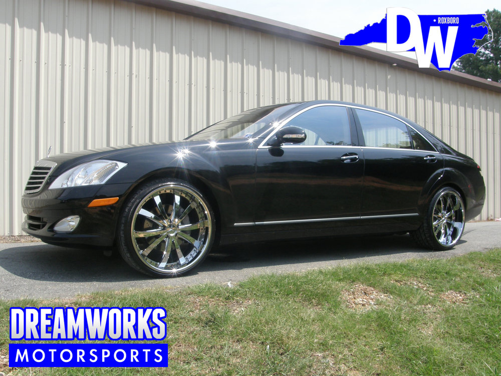 Terrence-Holt-NFL-Detroit-Lions-Carolina-Panthers-NC-State-Mercedes-S550-North-Carolina-Dreamworks-Motorsports-4