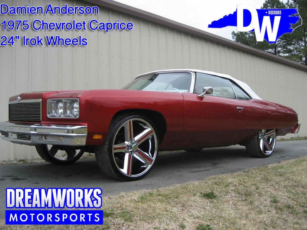 Damien-Anderson-NFL-Cardinals-Arizona-CFL-Edmonton-Eskimos-Chevrolet-Caprice-Dreamworks-Motorsports-1