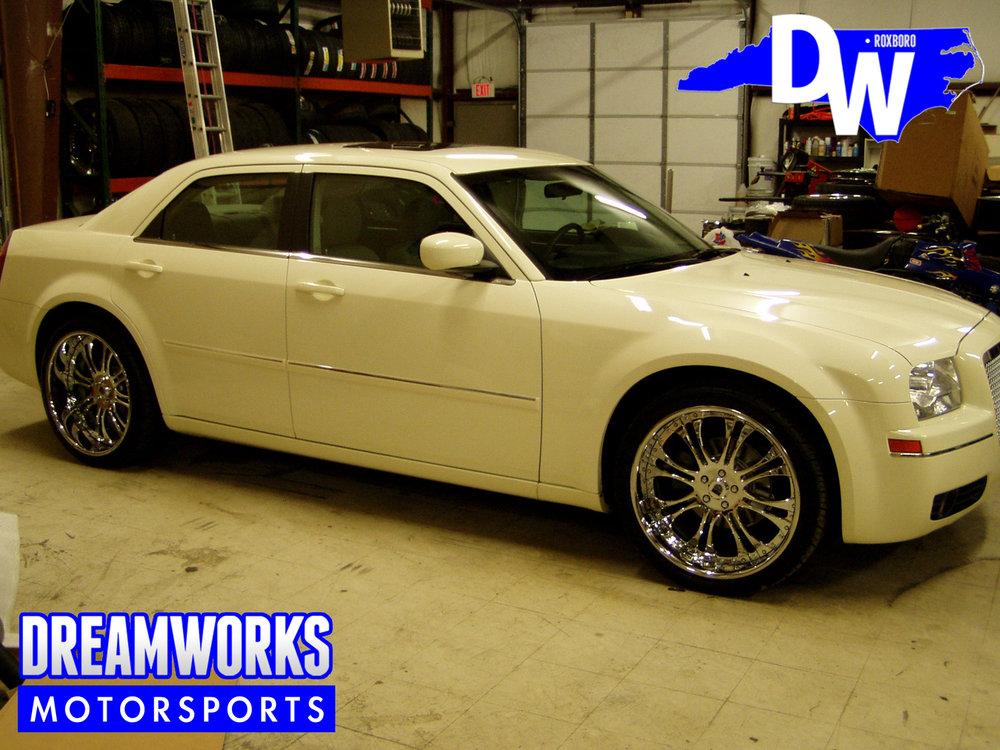 Shammond-Williams-UNC-Tarheels-Basketball-Chrysler-Dreamworks-Motorsports-1