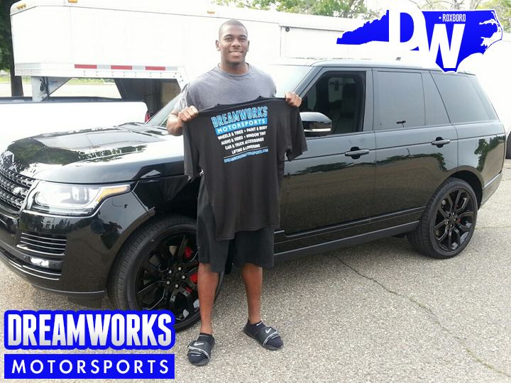 Devin-Funchess-NFL-Carolina-Panthers-Michigan-Wolverines-Range-Rover-Dreamworks-Motorsports-3