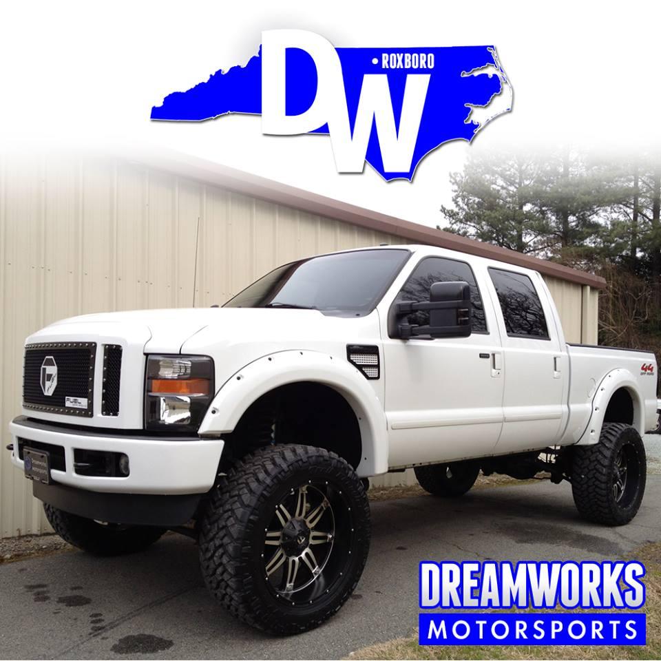 Marvin-Austin-NFL-Denver-Broncos-Ford-F250-Dreamworks-Motorsports