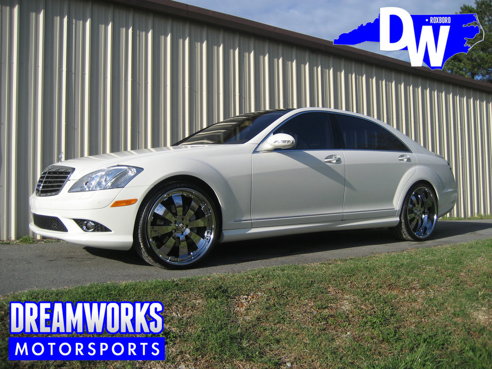 Tank-Tyler-NFL-KC-Chiefs-Carolina-Panthers-NC-State-Wolfpack-Mercedes-S550-Dreamworks-Motorsports-1