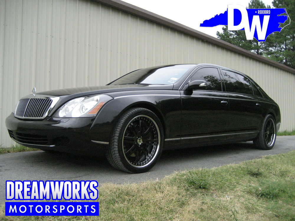 Jerrry-Stackhouse-NBA-UNC-Tar-Heel-Maybach-Black-Rims-Dreamworks-Motorsports-1
