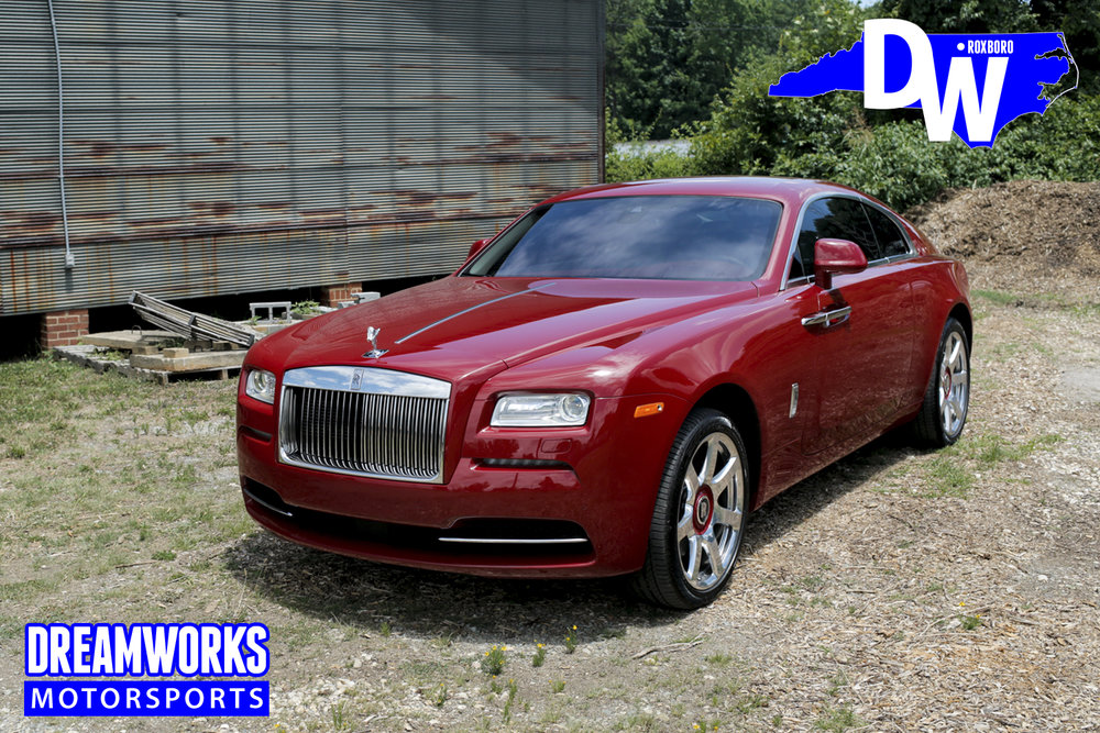 John-Wall-NBA-Washington-Wizards-Kentucky-Word-Of-God-Raleigh-Rolls-Royce-Wraith-Dreamworks-Motorsports
