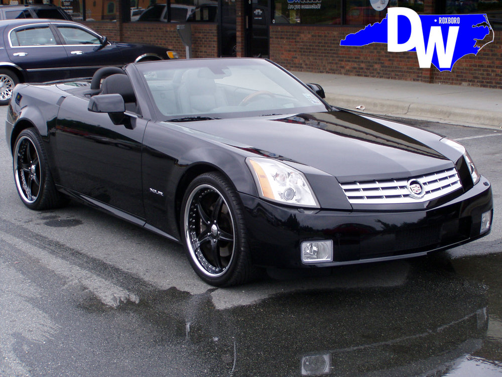 Josh-Howard-Wake-Forest-NBA-Dallas-Mavericks-Cadillac-XLR-Dreamworks-Motorsports-1