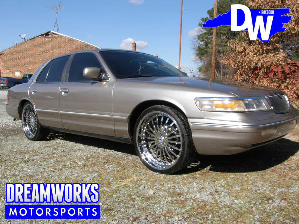 Gerald-Wallace-NBA-Bobcats-Charlotte-Nets-Celtics-Ford-Crown-Victoria-Dreamworks-Motorsports-1
