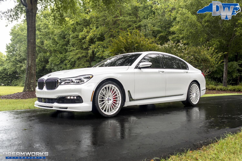 Wesley Matthews BMW Alpina B Dreamworks Motorsports - Alpina bmw