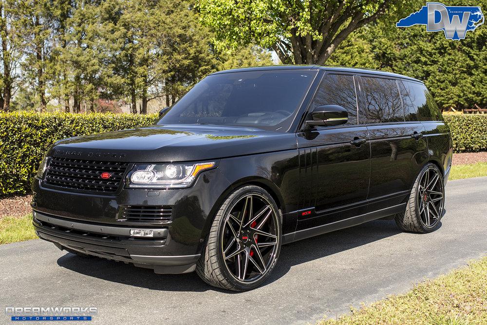 Range Rover Black >> Range Rover Dreamworks Motorsports