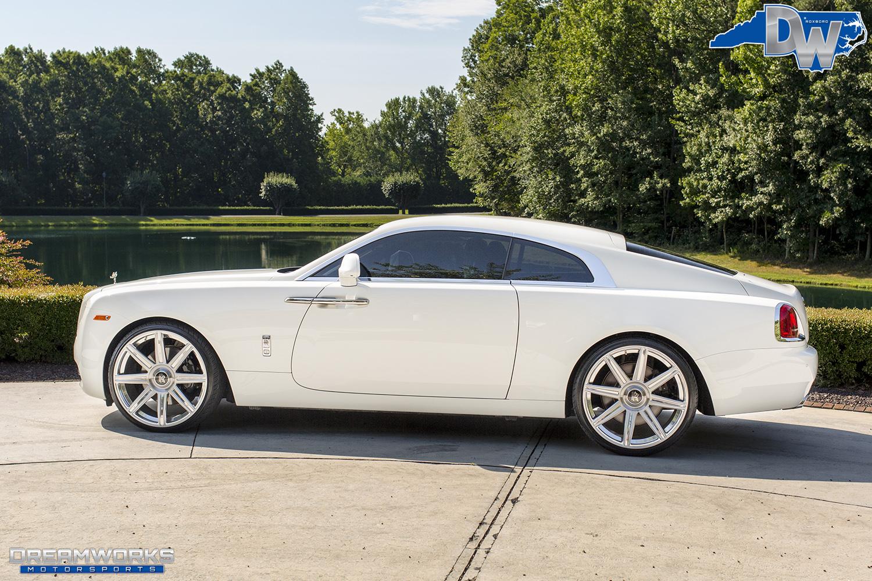Rolls Royce Wraith Red Interior Dreamworks Motorsports