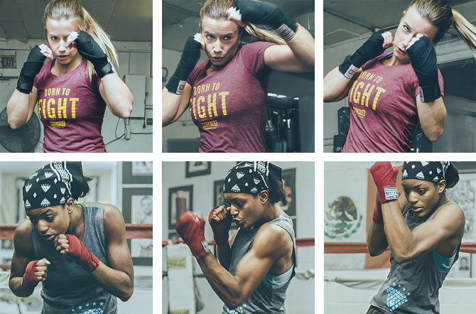 Amy Reid / Stacia Suttles in Training. Photography by David Jaewon Oh