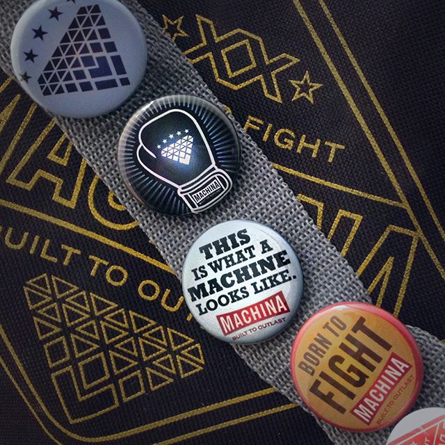 New #BadassBadges for December! Get a set of three fighting flare pins with every #MachinaBoxing order over $50  #boxingisbeautiful #spitfirebelchsmoke #womensboxing