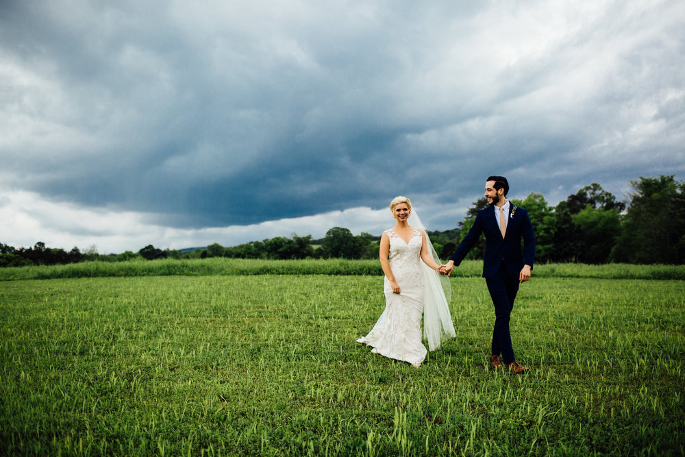 stormy sky couple portraits
