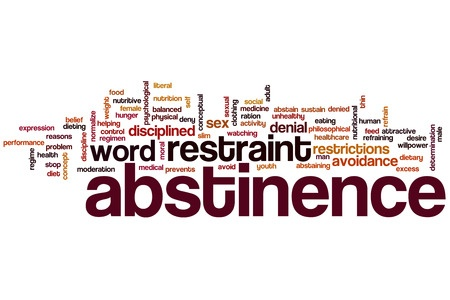 What is abstinence from sex