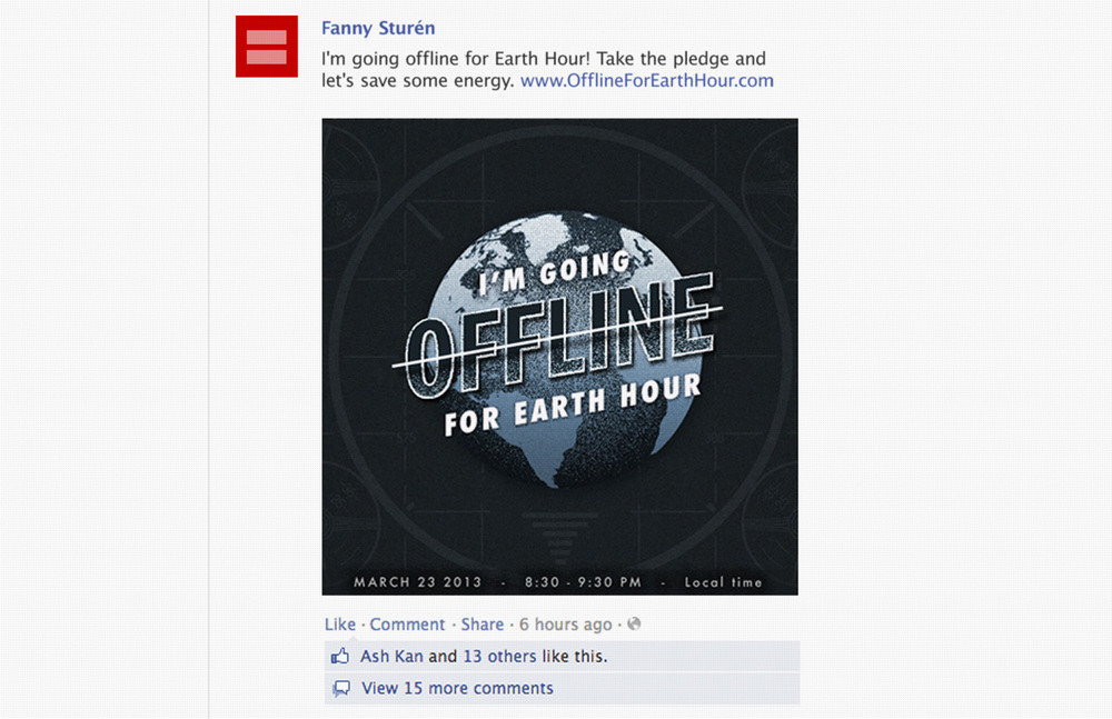 The shared Facebook artwork.