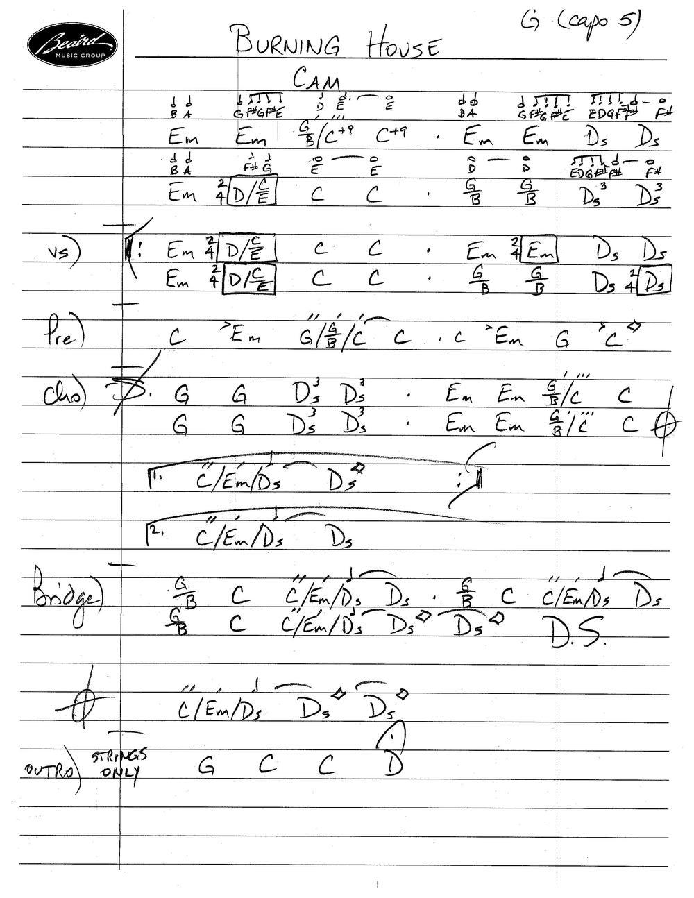 Letter Chart