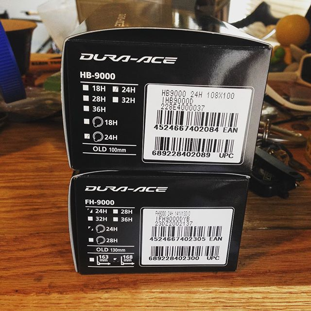 Thursday's wheel builds are better w/ dura ace....