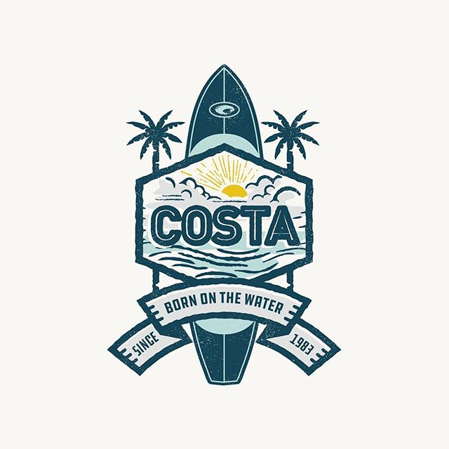 Had a lot of fun working on some apparel designs for @costasunglasses last year. It just dropped on their site if you want to check it out! . . . . #graphicdesigner #kronebergerstudio #graphicdesign #appareldesign #typetopia #dribbble #logodesigner #logoinspirations #costadelmarsunglasses #paddleboarding #seewhatsoutthere #badge #illustration #flyfishing #customapparel