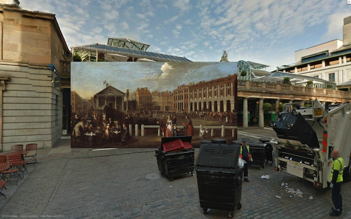 Covent Garden Market (1737) by Balthazar Nebot