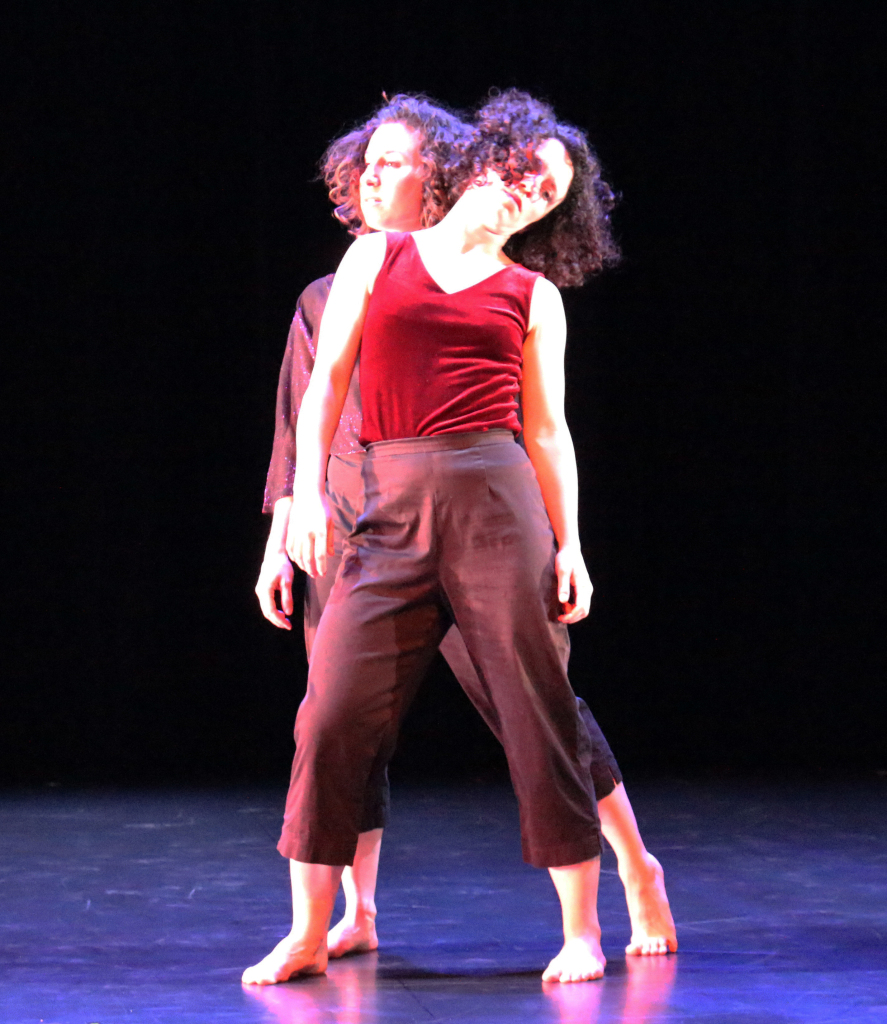 Semi-Formal  (2015)  Choreographed and performed by Tammy Carrasco-Sugden and Sarah Levitt Ramey.   Supported by a Columbus Dances Fellowship Award from the Greater Columbus Arts Council.