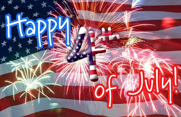 Happy 4th of July!! Be safe everyone!!!