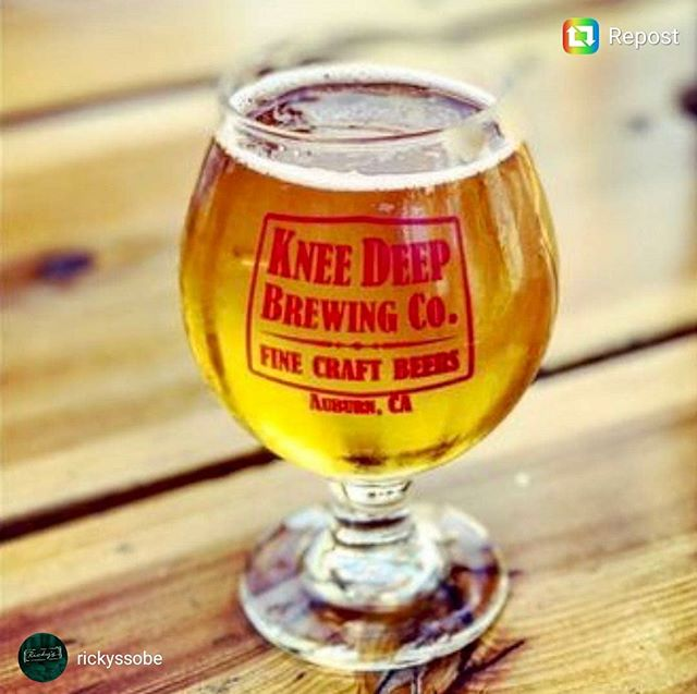 Where are you at on #Thursday? @rickyssobe for the @kneedeepbrewingco #taptakeover that is... Add it to the calendar because the dank #westcoast style #ipas are not to be missed!