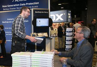 Nicholas Carr, author of The Big Switch, signed his book at Odin Summit 2014.
