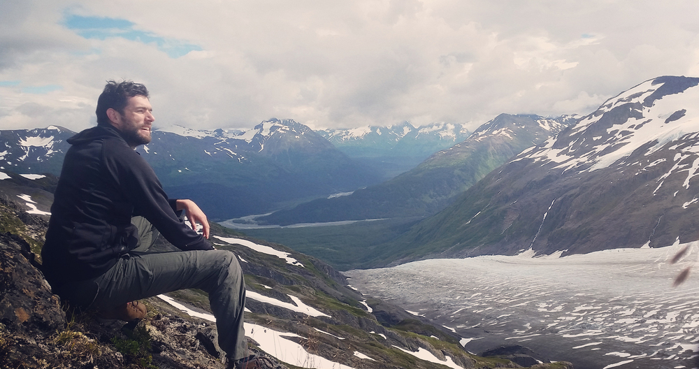 The view above Exit Glacier was just about the best thing I saw in Alaska.